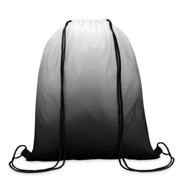 Batoh se šňůrkami Fade Bag - black