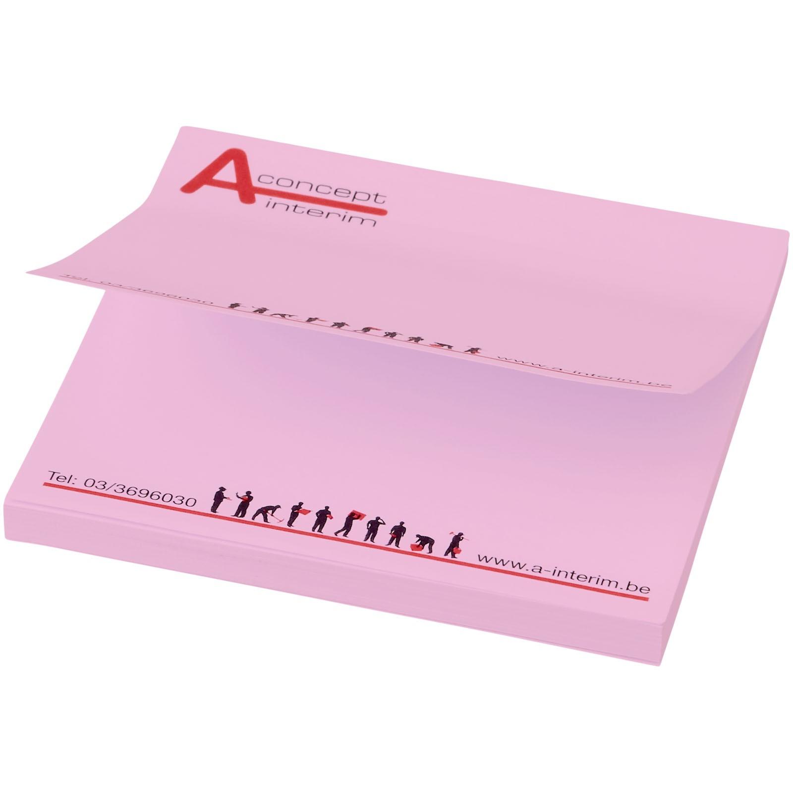 Samolepicí lístečky Sticky-Mate® 75x75mm - Světle růžová / 50 pages
