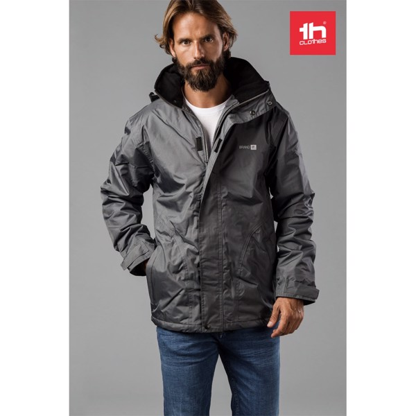 THC LIUBLIANA. Unisex heavy-weight coat - Grey / S