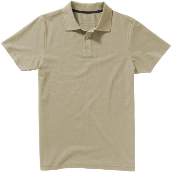 Seller short sleeve men's polo - Khaki / XS