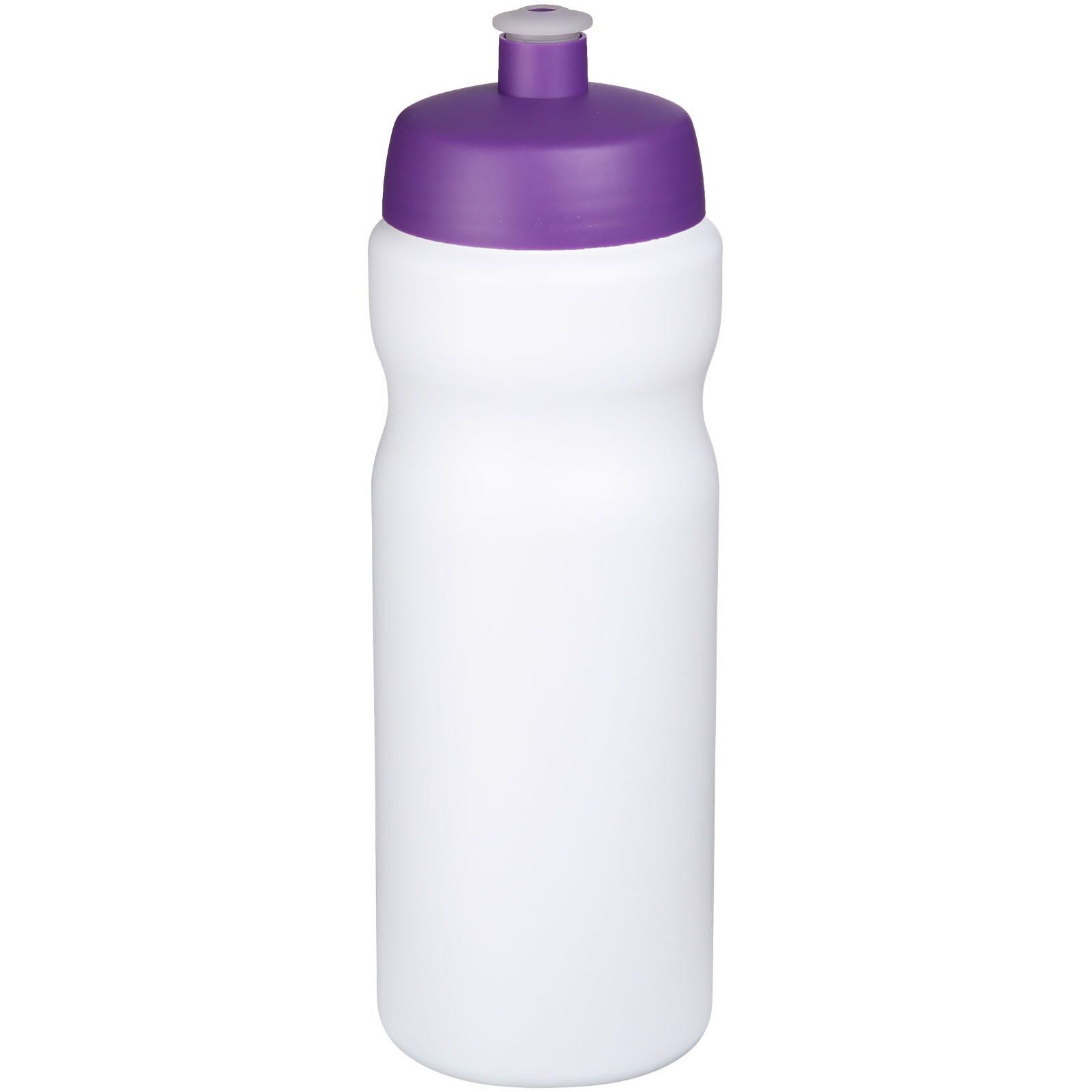 Baseline® Plus 650 ml sport bottle - White / Purple