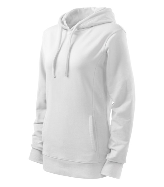 Sweatshirt Ladies Malfini Kangaroo - White / White / 2XL