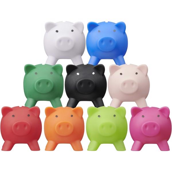 Piggy coin bank - White