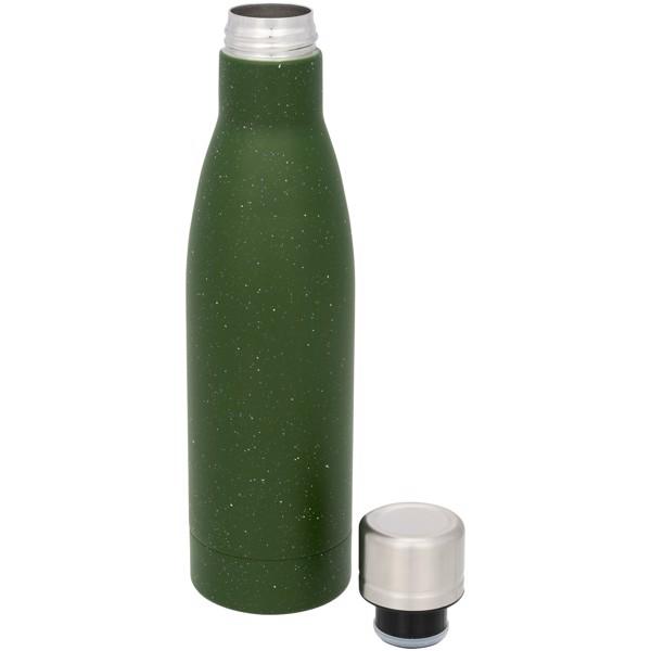 Vasa 500 ml speckled copper vacuum insulated bottle - Green