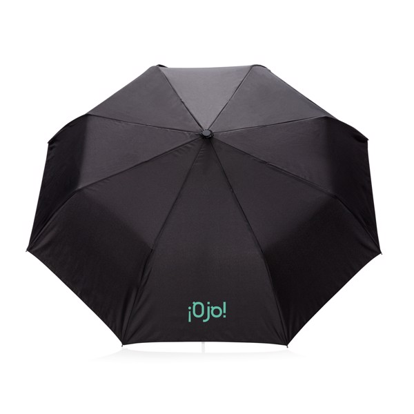 """21"""" skládací automatický deštník deluxe - Černá"""