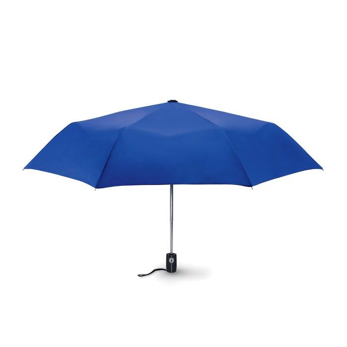 """Luxe 21"""" storm umbrella Gentlemen - Royal Blue"""