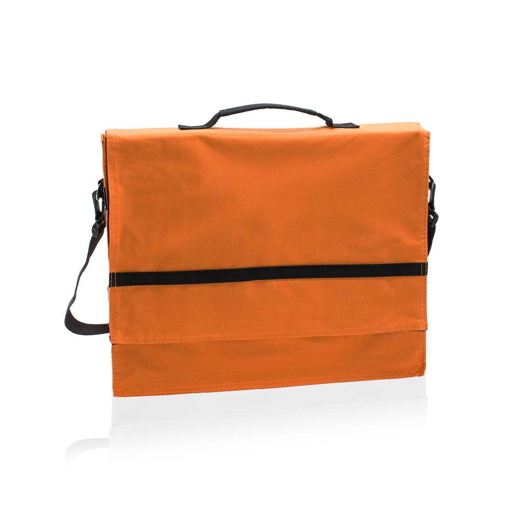 Portadocumentos Java - Naranja / Negro