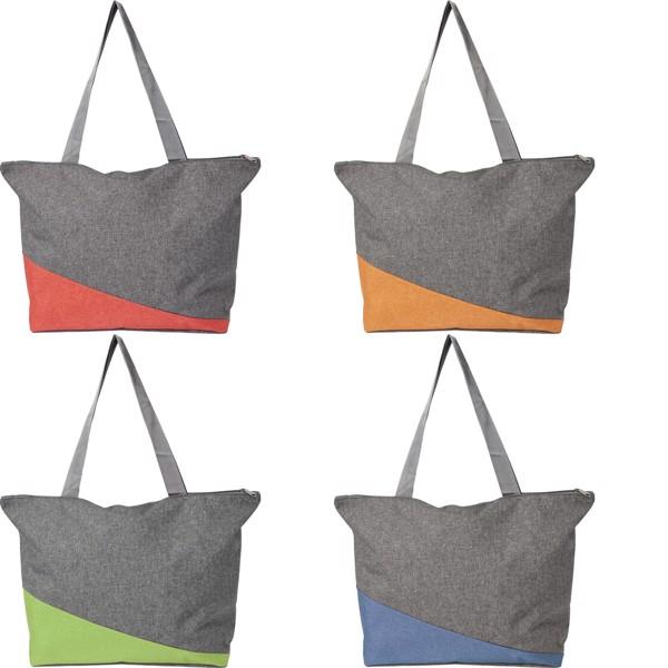 Polycanvas (300D) shopping bag - Cobalt Blue