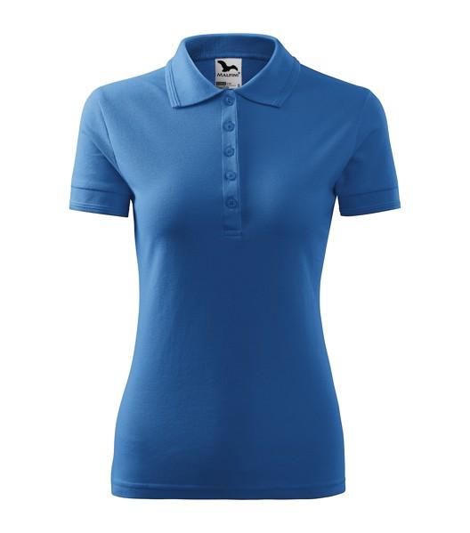 Polo Shirt women's Malfini Pique Polo - Azure Blue / 2XL