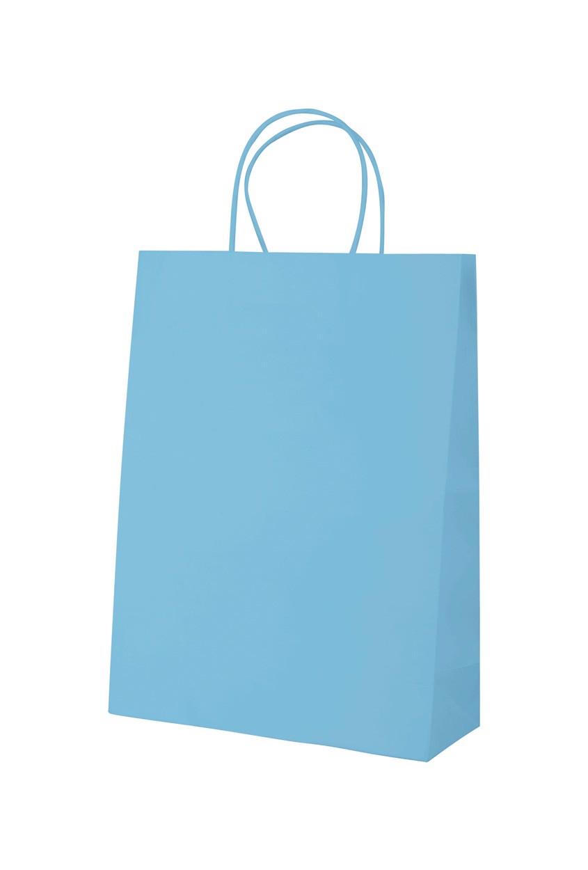 Papírová Taška Mall - Světle Modrá
