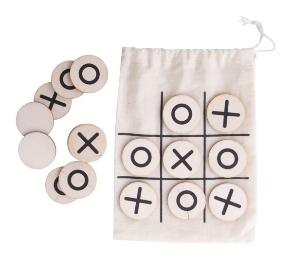 Tic-Tac-Toe OXO - Natural