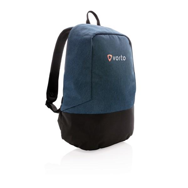 Standardní RFID nedobytný batoh - Modrá / Černá