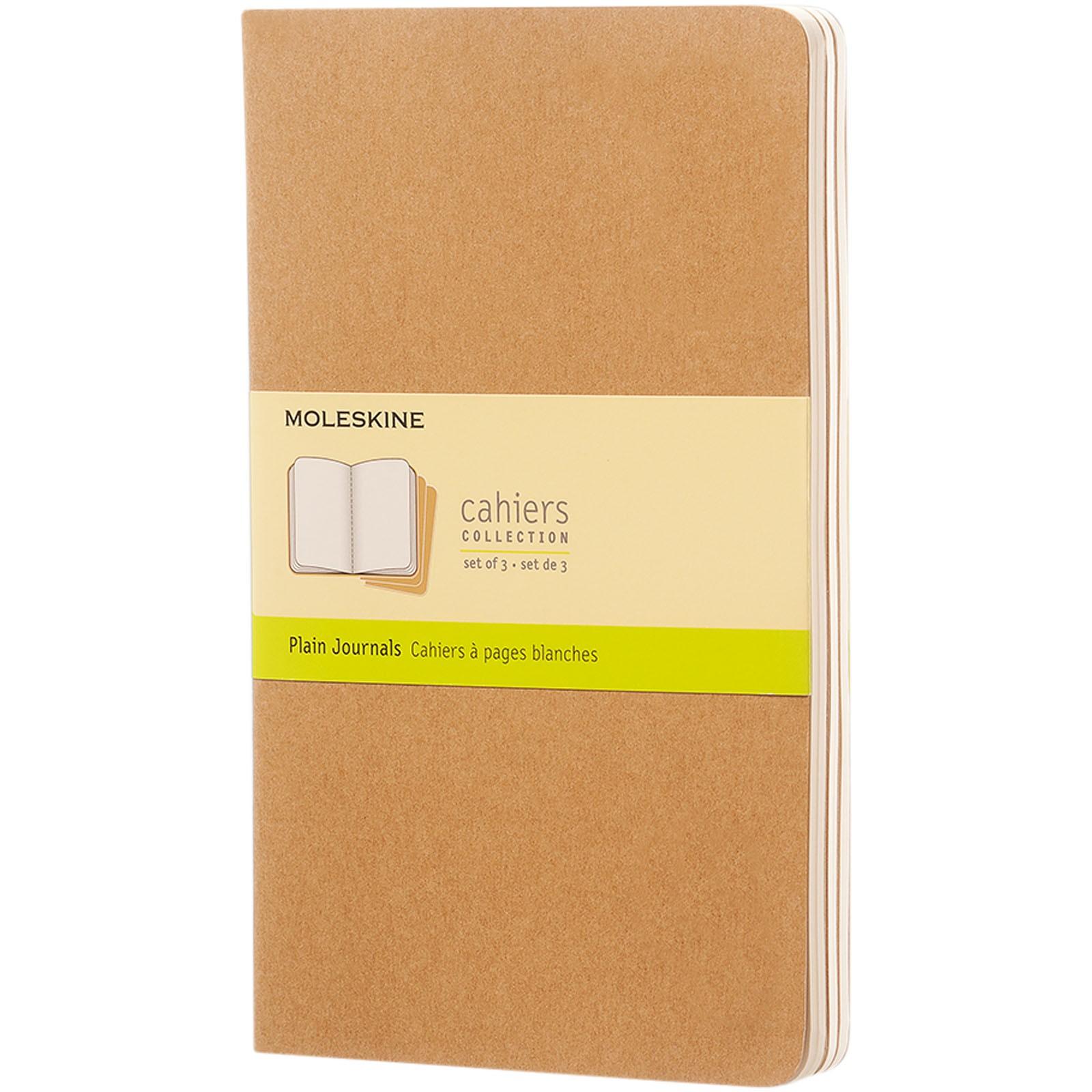 Cahier Journal L - plain - Kraft brown