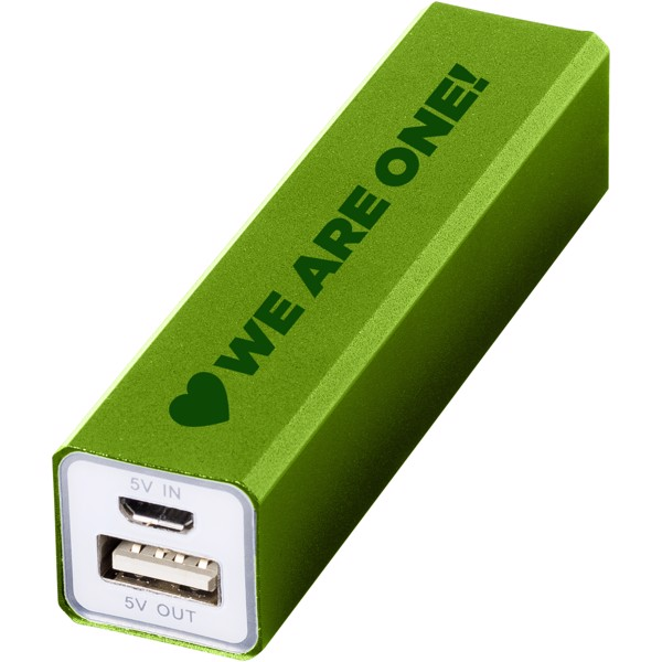 Volt 2200 mAh power bank - Lime