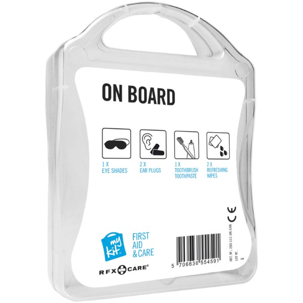 MyKit On Board Travel Set - White