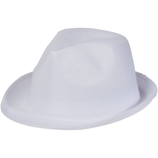 Trilby Hat - White