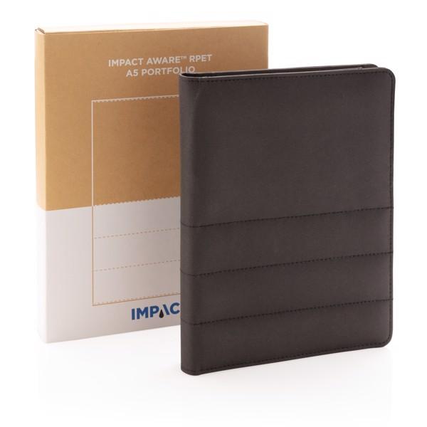 Carpeta Impact AWARE ™ RPET A5 - Negro