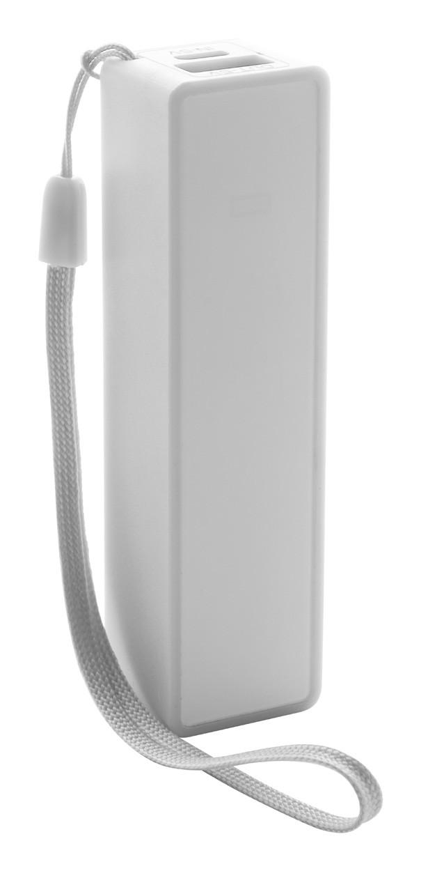 Usb Power Bank Keox - White / White