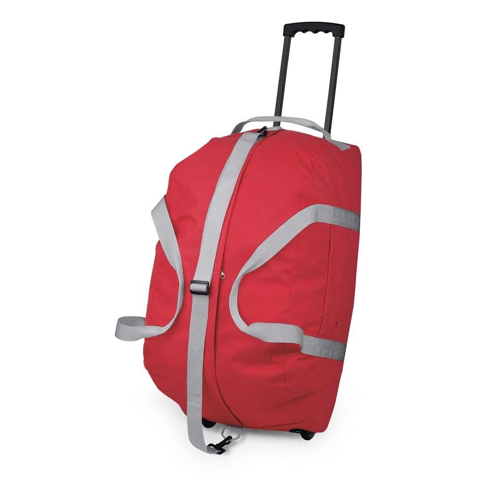 HILTON. Travel trolley - Red
