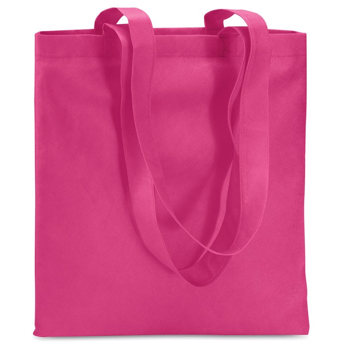 Shopping bag in nonwoven Totecolor - Fuchsia