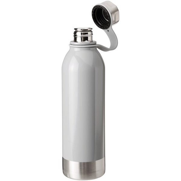 Perth 740 ml stainless steel sport bottle - Grey