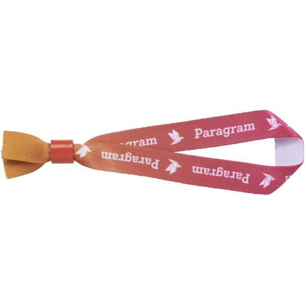 Et sublimation festival bracelet single - Red