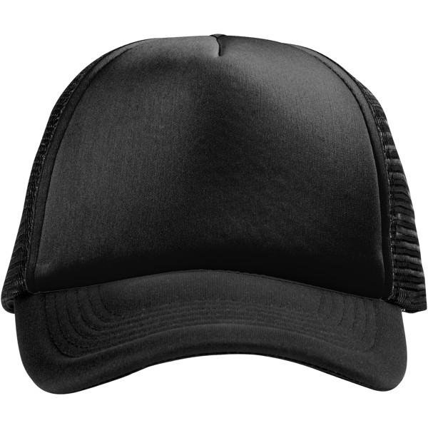 Trucker 5 panel cap - Solid black
