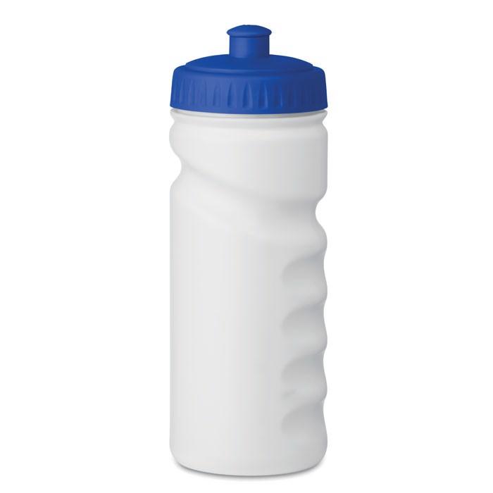 500ml PE Bottle Spot Eight - Blue