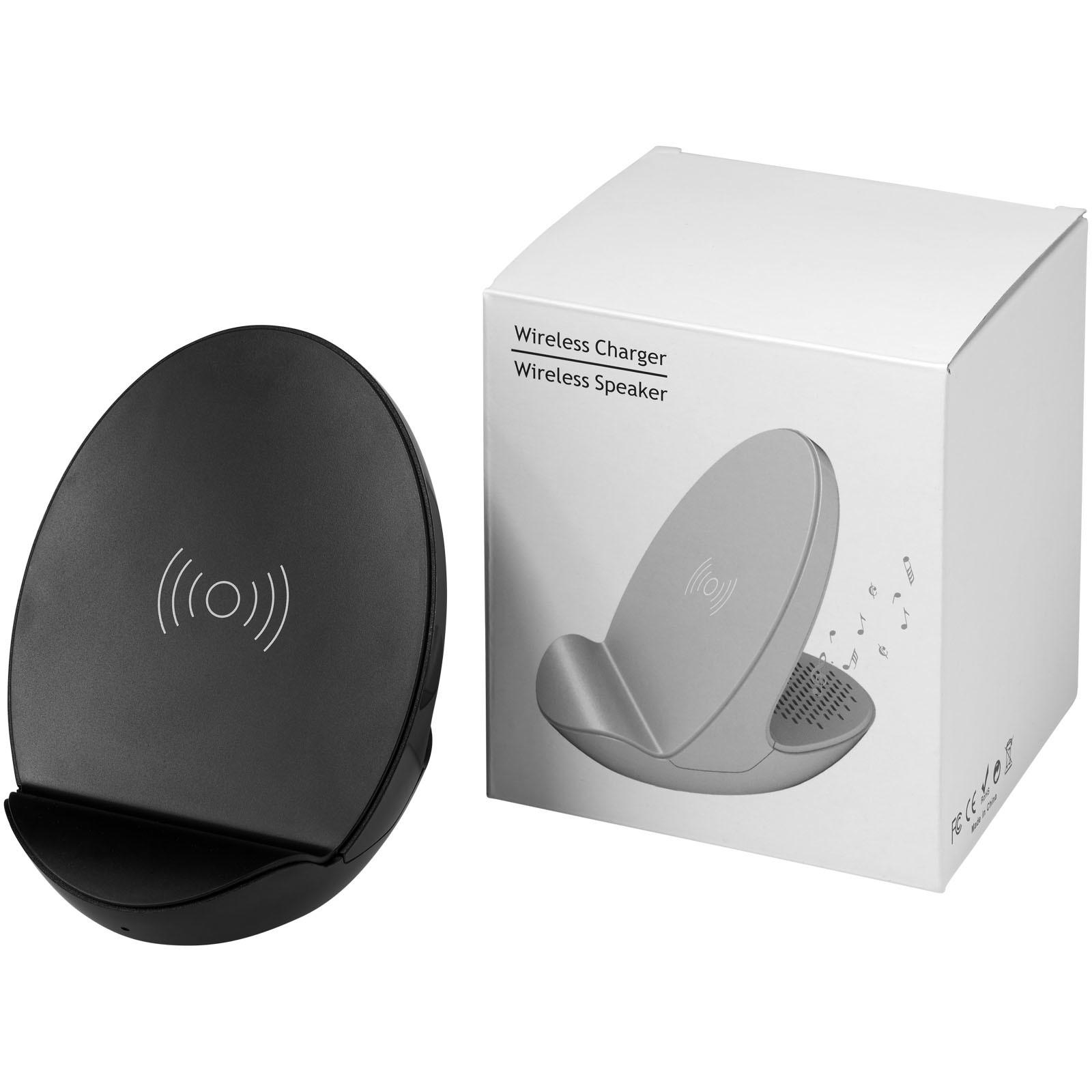 S10 Bluetooth® 3-function speaker - Solid black