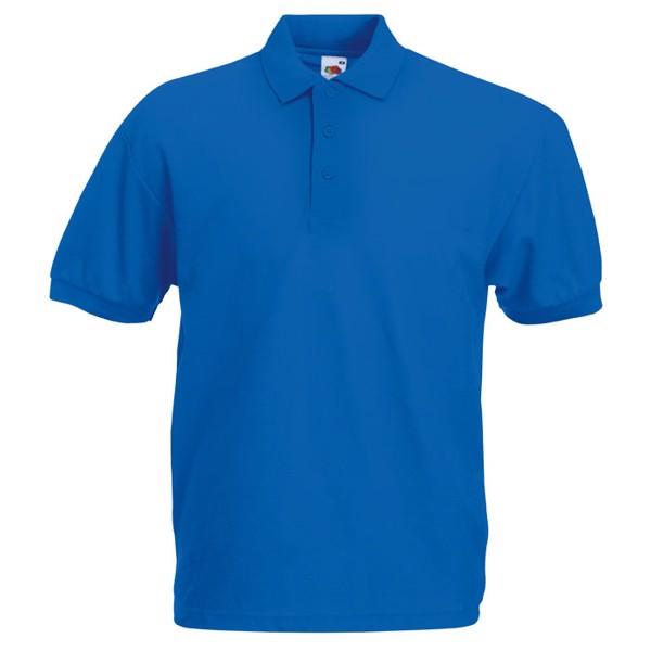 Męska Koszulka polo 170g/m2 65/35 Blended Polo 63-402-0 - Niebieski / L