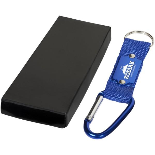 Strap Karabiner Schlüsselanhänger - Blau