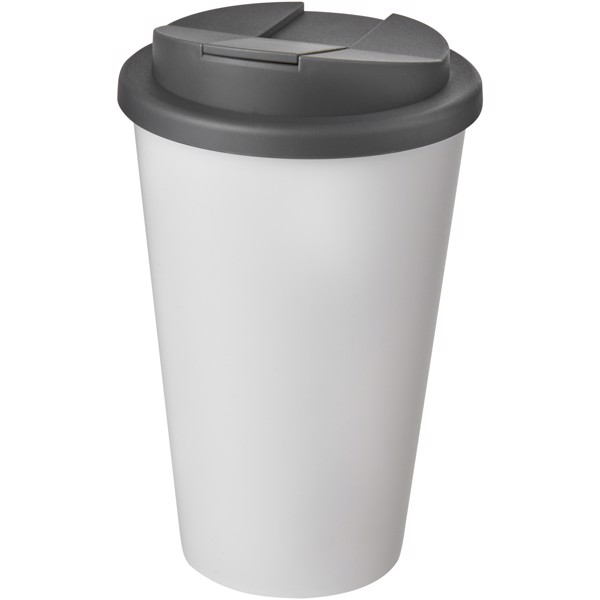Americano® 350 ml tumbler with spill-proof lid - Biały / Szary
