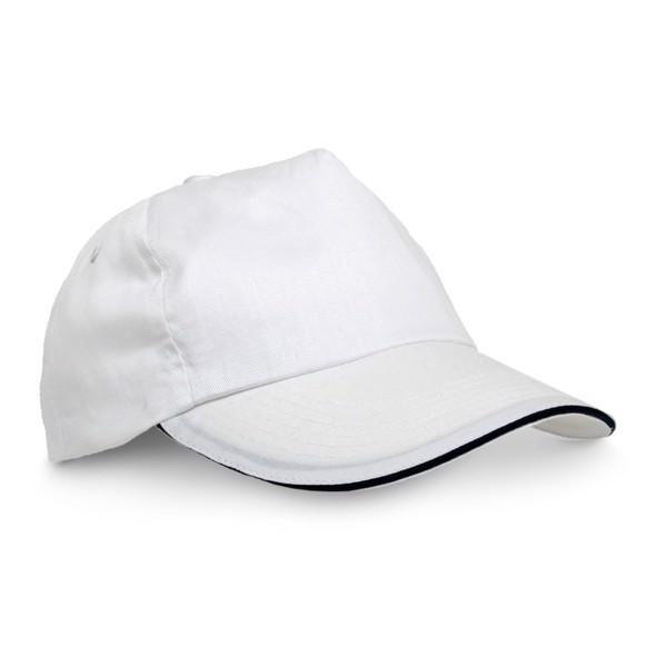 CLAIRE. Καπέλο σάντουιτς - Λευκό