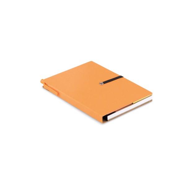 Notes z recyklingu Reconote - pomarańczowy