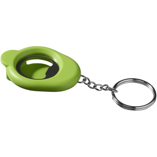 Cappi bottle opener key chain - Lime