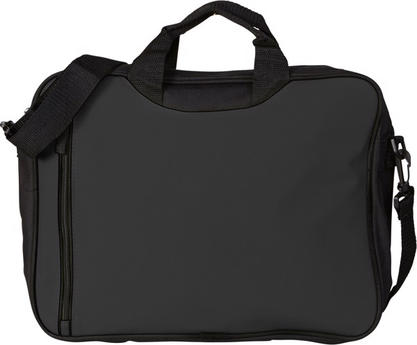 Polyester (600D) shoulder bag - Black