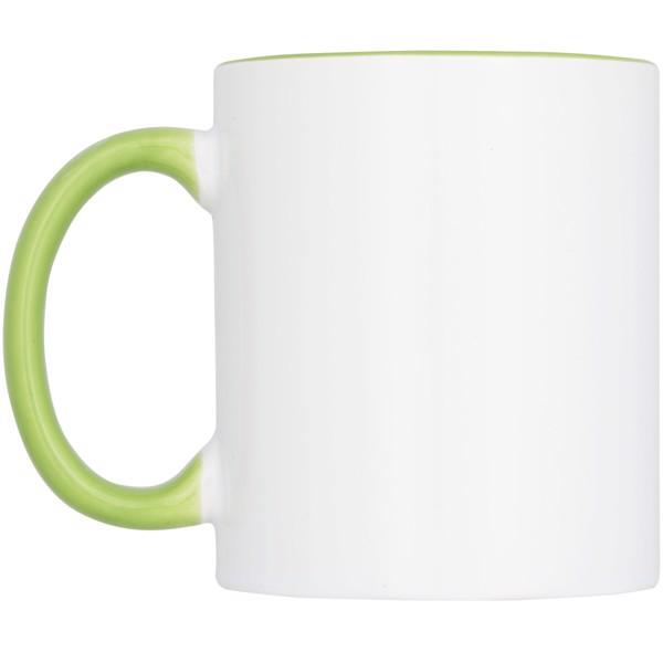 Ceramic sublimation mug 4-pieces gift set - Lime