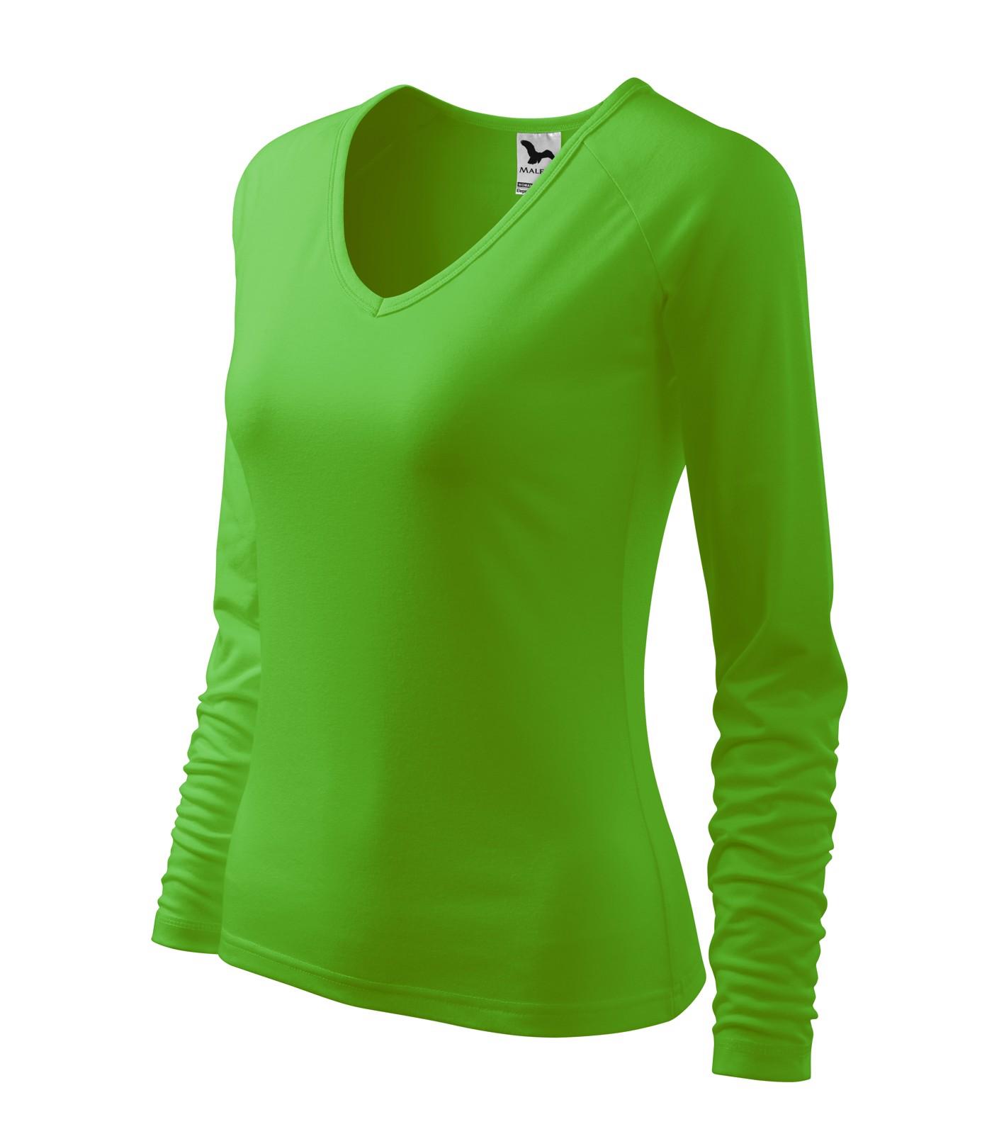 T-shirt women's Malfini Elegance - Apple Green / 2XL