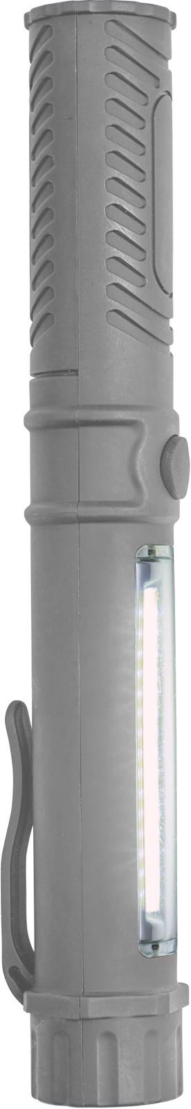 ABS work light/torch - Grey