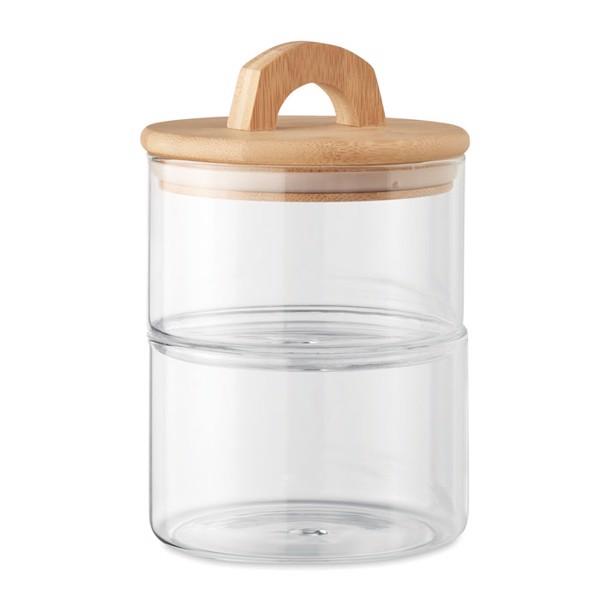 Borosilicate glass jar 1L Boropot