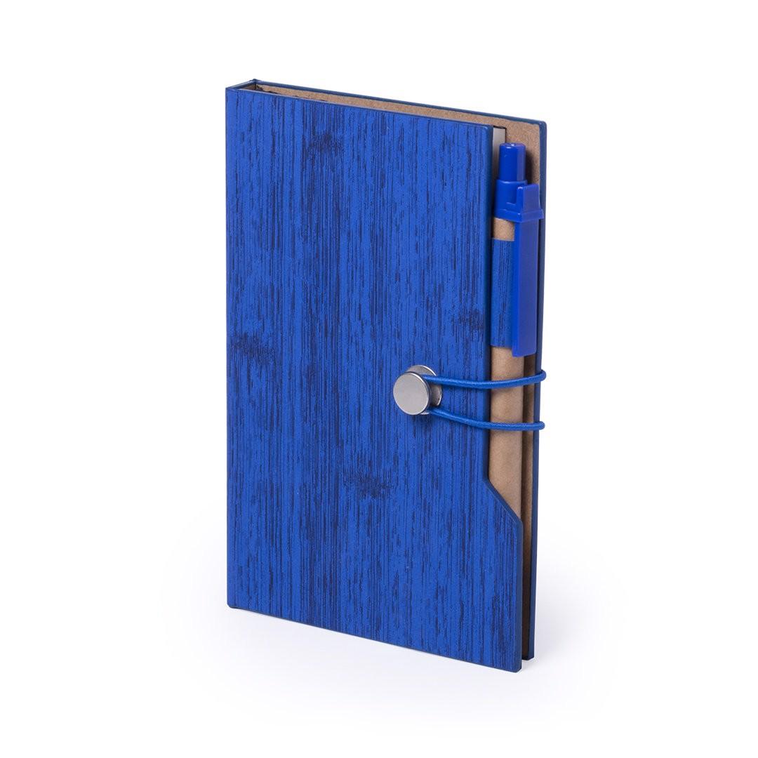 Bloc Notas Rasmor - Azul