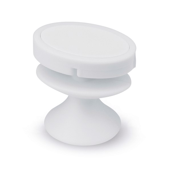 TOBY. Phone holder - White