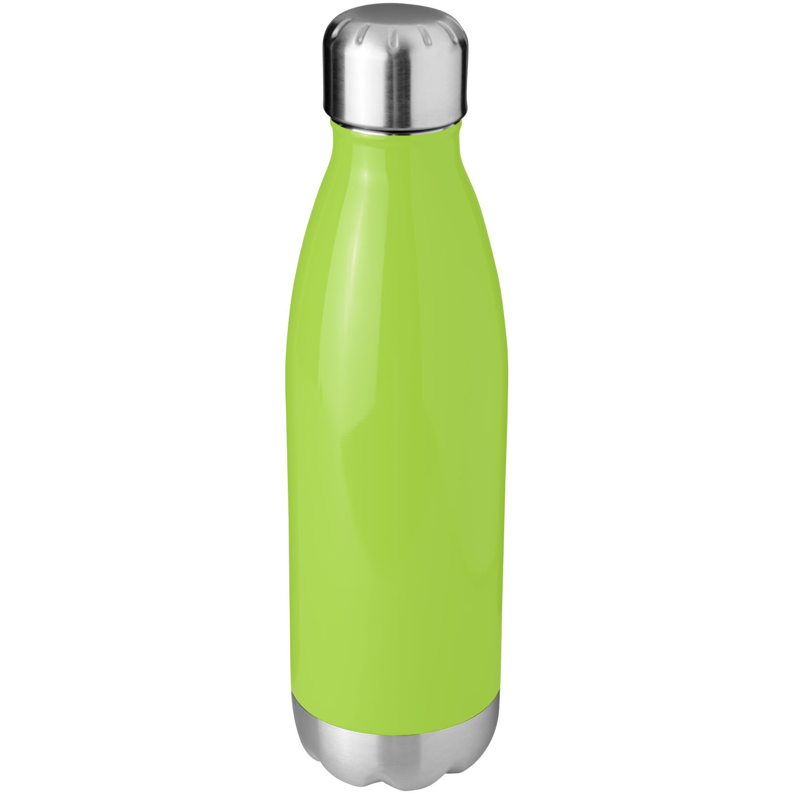 Arsenal 510 ml vacuum insulated bottle - Lime