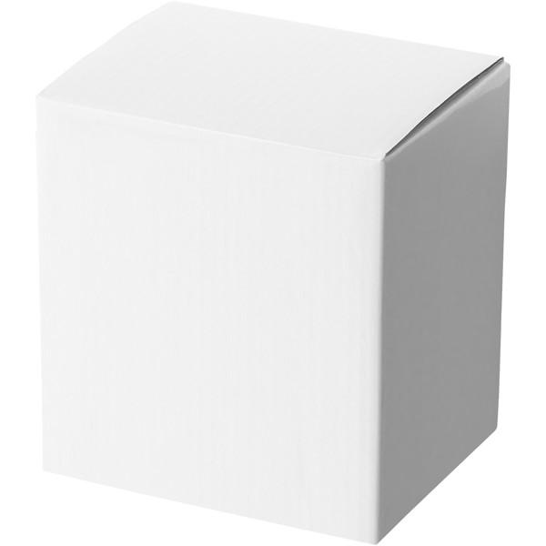 """Taza de cerámica de 250 ml con cuchara """"Nadu"""" - Amarillo"""