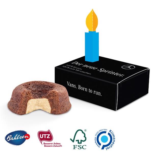 Minikuchen in der Gratulationsbox