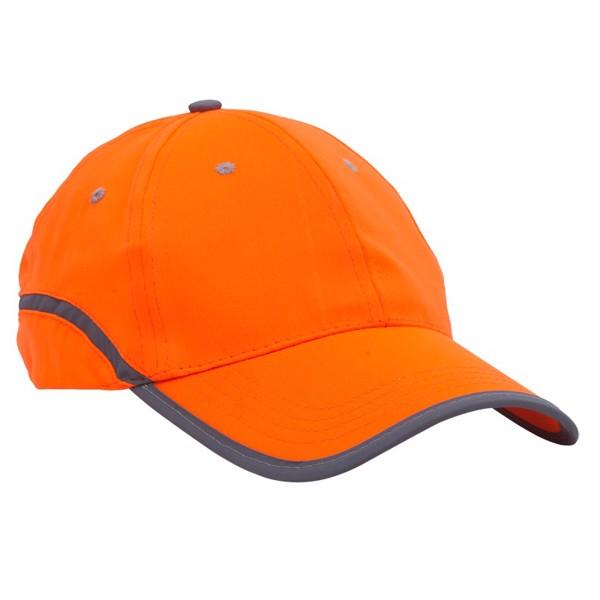 Czapka odblaskowa Be Active - Pomarańczowy