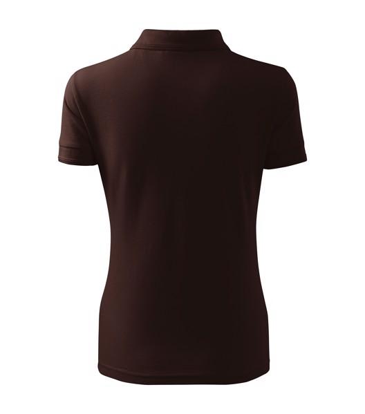 Polo Shirt women's Malfini Pique Polo - Coffee / S