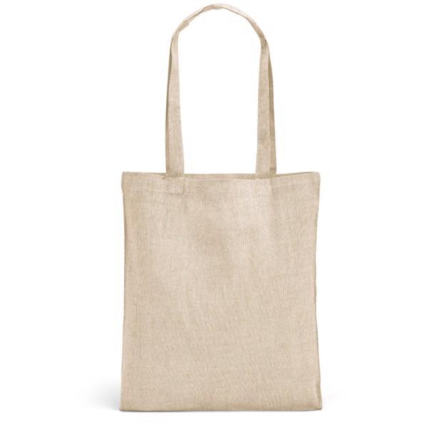 RYNEK. Taška z recyklované bavlny - Přírodní