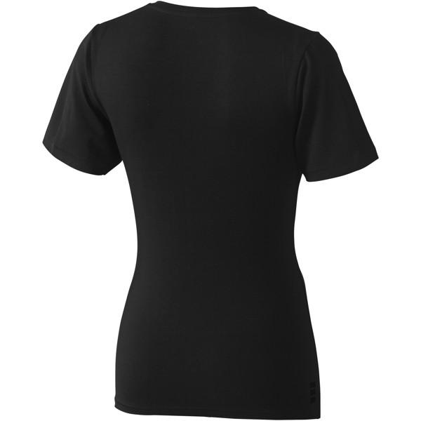 Kawartha T-Shirt für Damen mit V-Ausschnitt - Schwarz / L