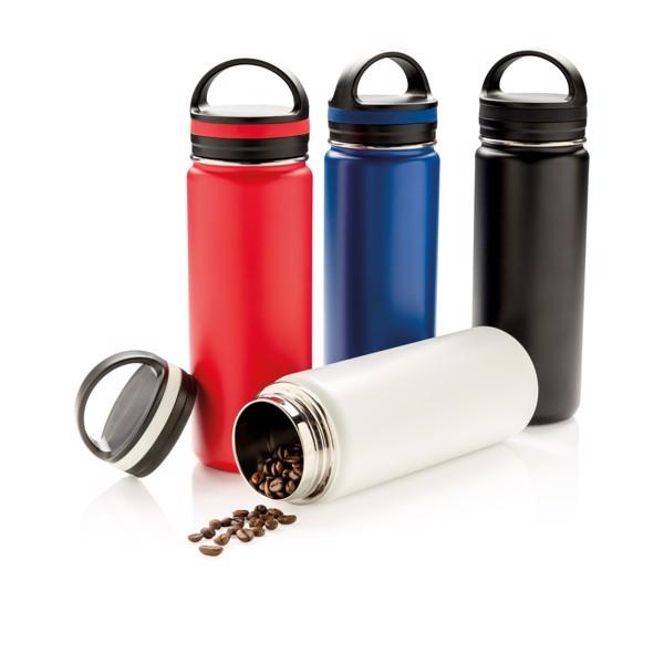 Vákuum szivárgásmentes palack széles ivónyílással - Off White